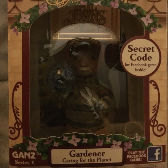 Ganz Other - Gardener Figurine🖤